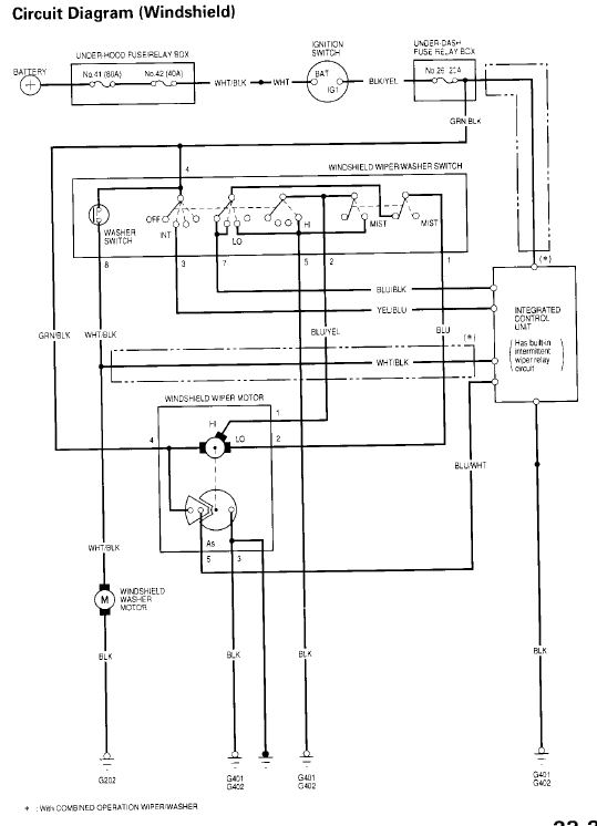 1992 honda prelude speaker wiring diagram brain and functions accord wiper - omano schematics