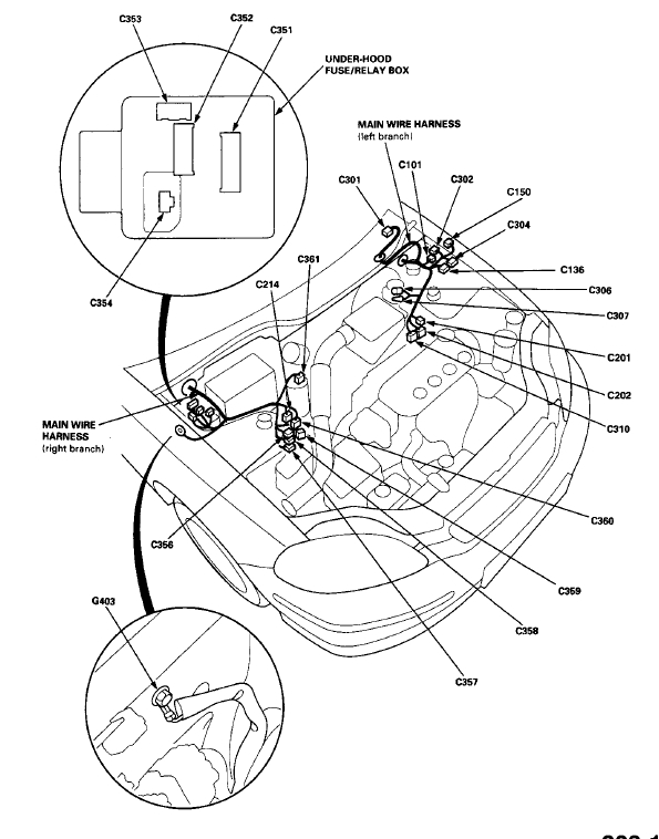 1992 Honda Civic Harness Diagram. Honda. Wiring Diagram Images