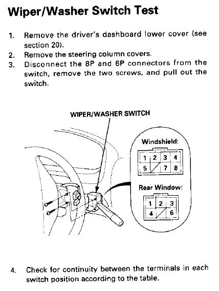 Wire Diagram For 1987 Honda Civic Wiper Motor Wiring Question Honda Tech Honda Forum