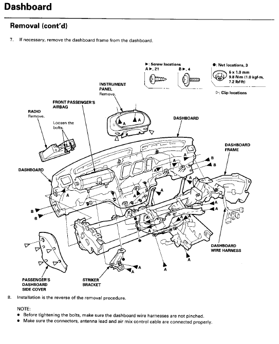 Glove Box Diagram 2006 Honda Pilot, Glove, Free Engine