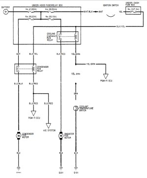 92 Civic hatch  need fan switch wiring help  HondaTech