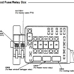 99 Honda Civic Fuse Diagram Brake Light Wiring Jeep Grand Cherokee 94 Radiator Fan Doesn't Run - Honda-tech Forum Discussion