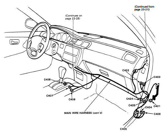 2000 Civic Ex Dash Wiring Diagram Honda Tech