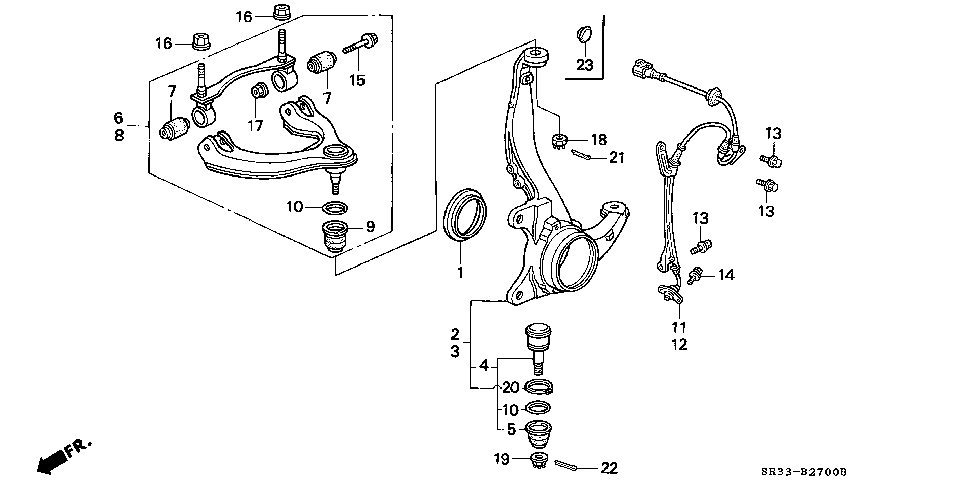 Front lower ball joint boot circlip part? Diagram included