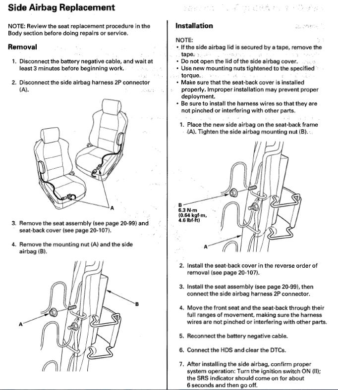 Acura Seat Wiring Diagram 01 Acura Tl Seats Into 98 Civic Help Page 2 Honda