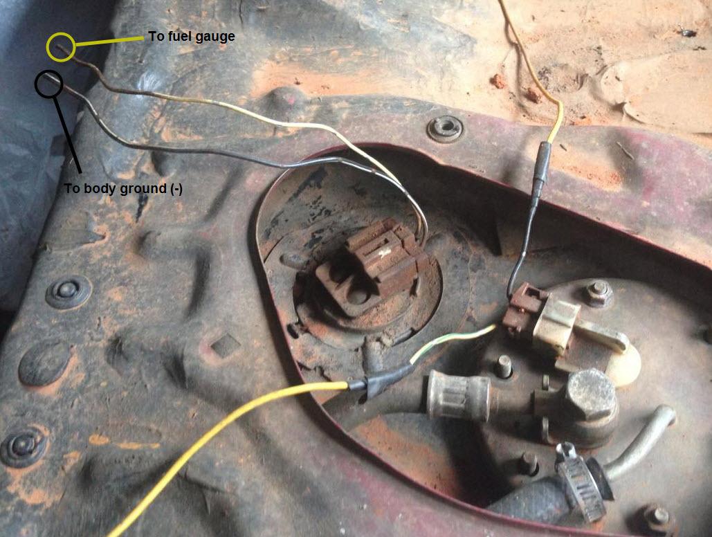 1997fordf150dash Ford F150 1997 Instrument Cluster Wiring Diagram