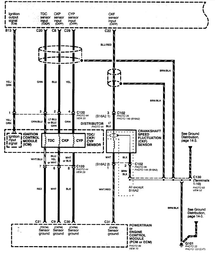 2000 honda civic engine wiring harness
