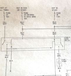 1994 honda accord main relay wiring diagram wiring library 95 civic no power to the fuel [ 1034 x 1013 Pixel ]