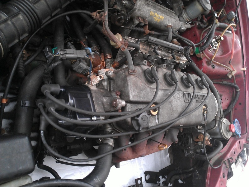 1996 Honda Civic Firing Order