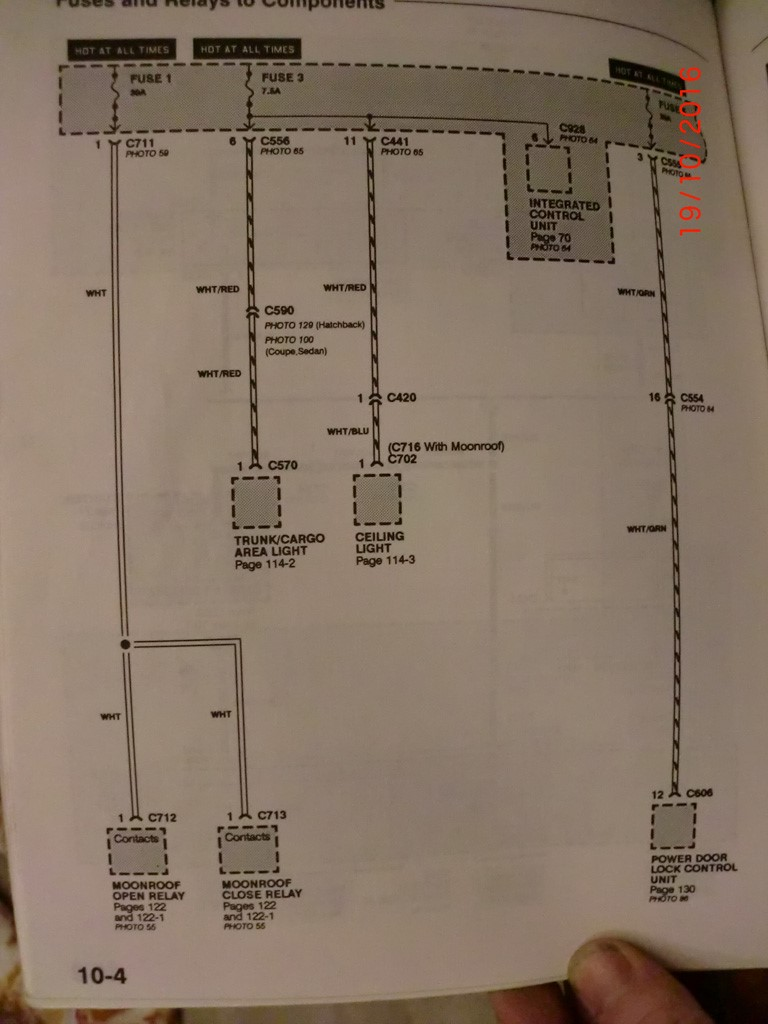 Security Wiring Diagram 97 Honda Del Sol