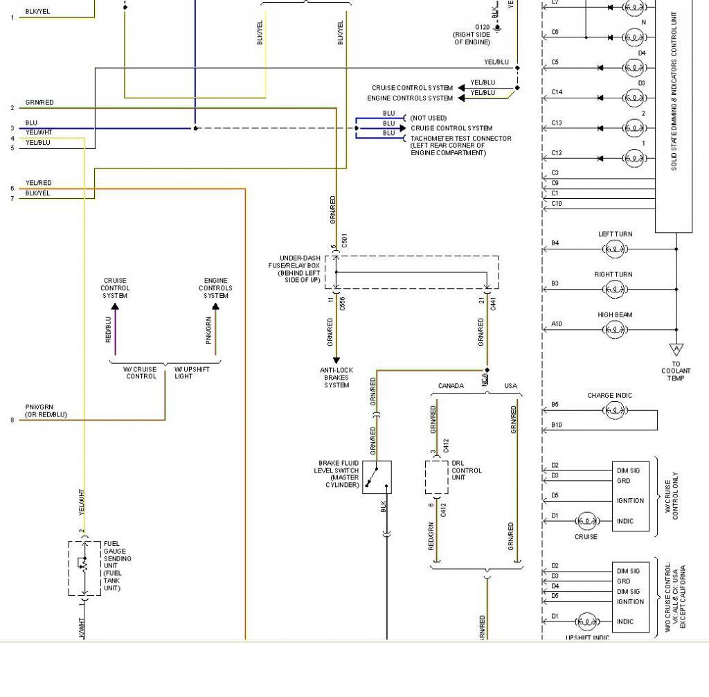 1992 honda prelude wiring diagram 9n fuel gauge with pics tech forum