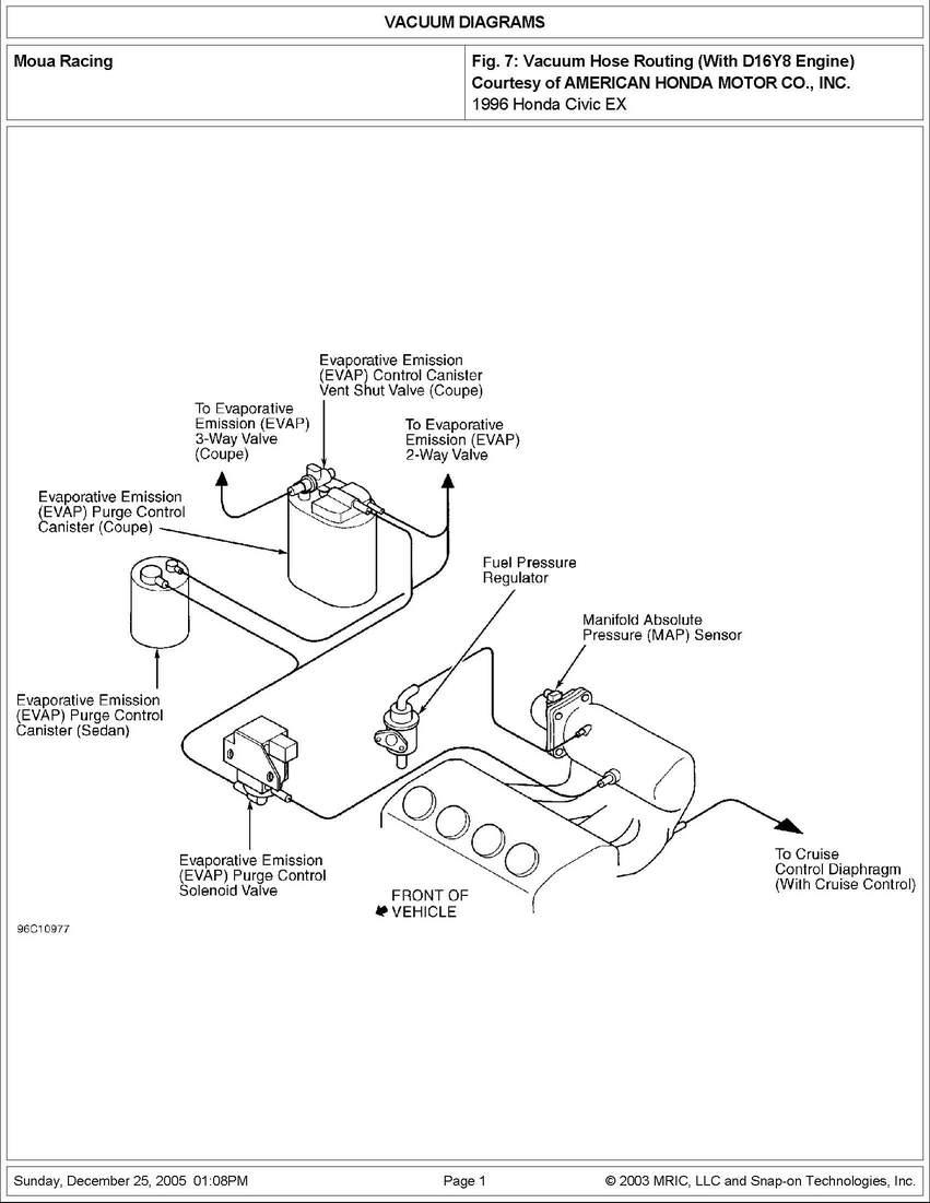 Mazda B2200 Vacuum Diagram On Nissan Pickup Evap Canister Location