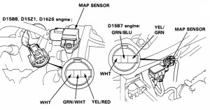 9200 HondaAcura engine wiring, sensor & connector guide  HondaTech  Honda Forum Discussion