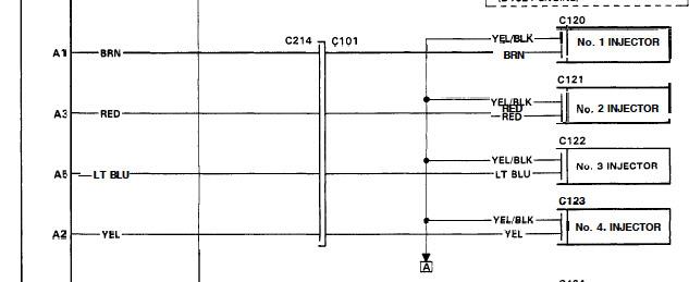 ecu wiring diagram honda civic main panel 95 wont start. no injector pulse - honda-tech forum discussion