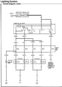 92-95 DX Civic Headlight Wiring. - Honda-Tech - Honda ...