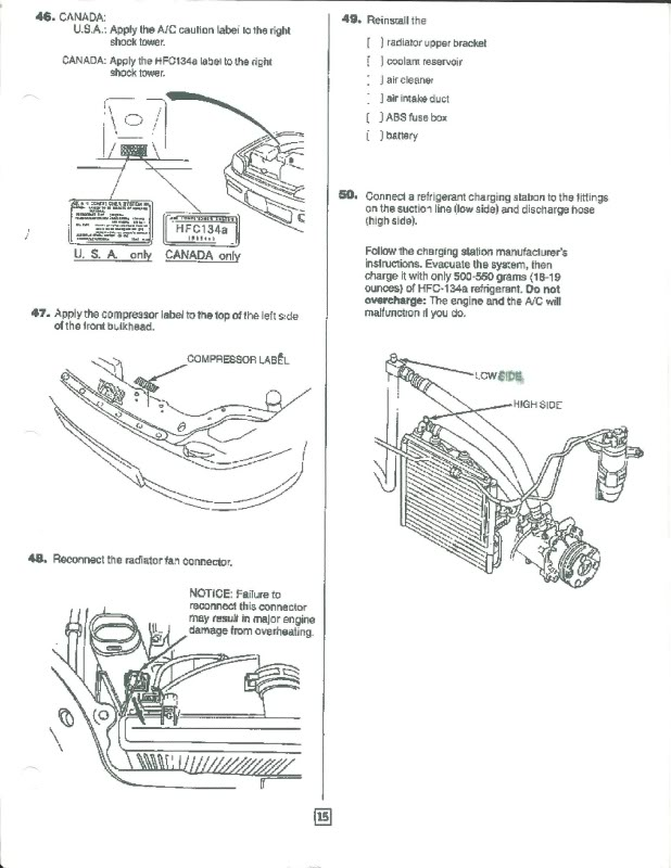 Diy A C Cooling System Honda Tech Forum Discussion Need