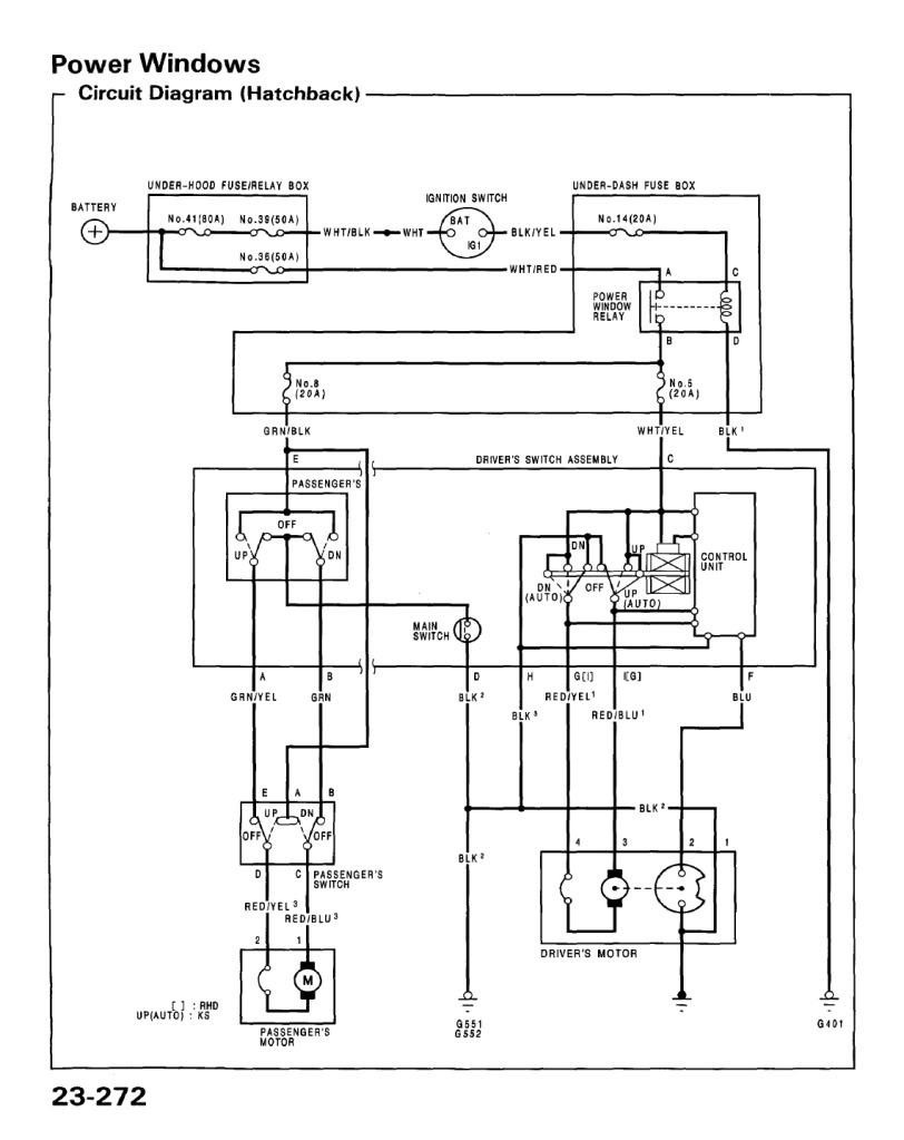Power Window Wiring Diagram Honda Civic | 2005 Honda Civic Power Window Wiring Diagram |  | Wiring Diagram
