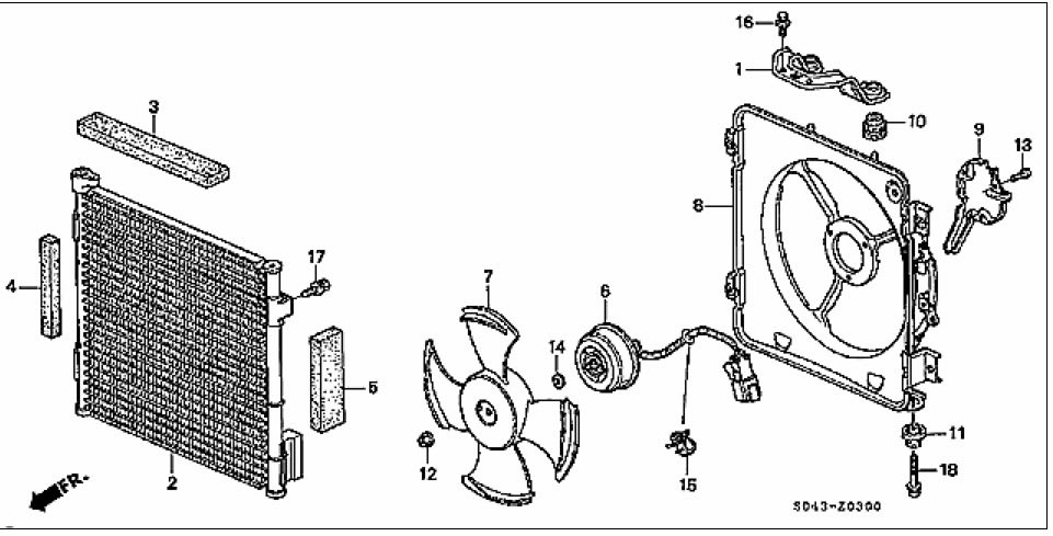 2000 Honda Accord Engine Diagram Air Compressor • Wiring