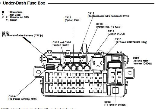 1999 honda civic lx fuse box diagram acme control transformer wiring 94 - fuel pump problems honda-tech forum discussion