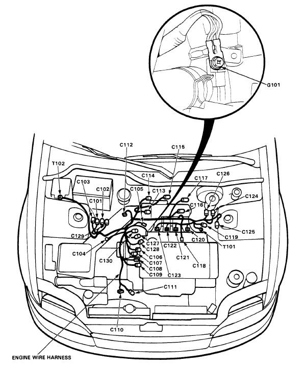 1998 Honda Civic Ignition Switch Wiring Diagram