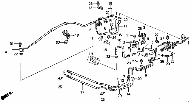 1991 Honda Crx Parts Diagram. Honda. Auto Wiring Diagram