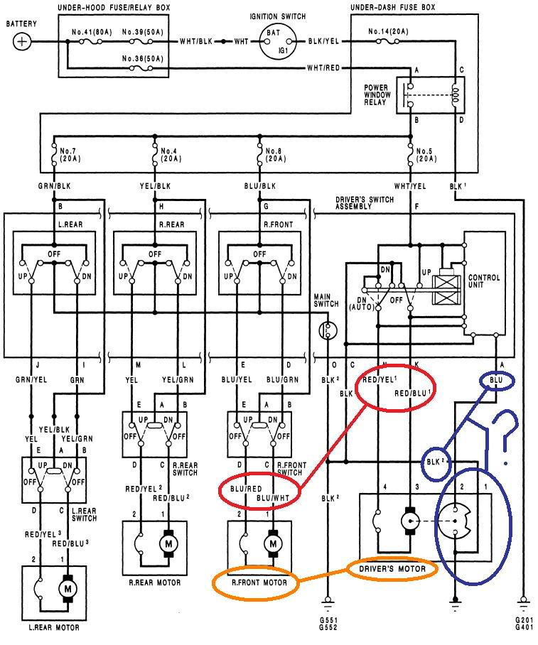 honda civic door wiring harness diagram on 1993 honda accord sensor