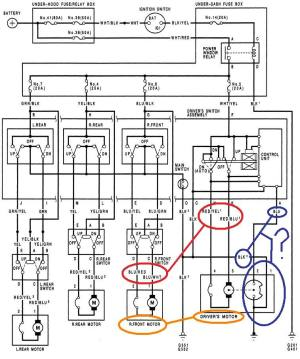 EG JDM DOORS  need wire diagram to power them up  Honda