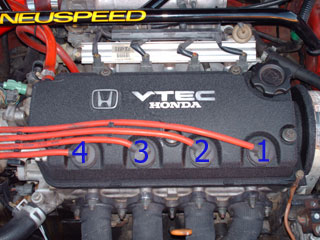 What Is The Order Of The Spark Plug Wires For My 94 Civic Ex