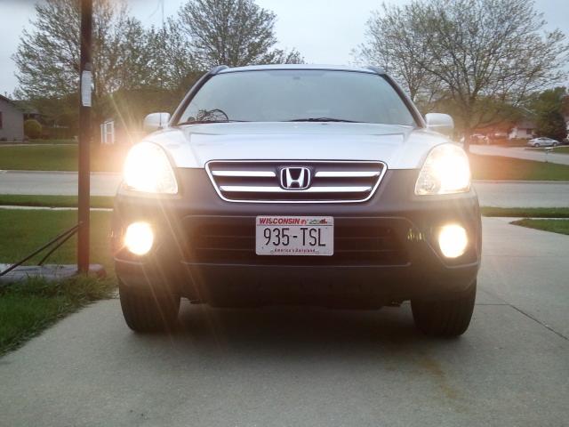 DIY 2005 CRV Fog Lights instal with no switch  Honda