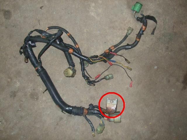 1991 Honda 300 Wiring Harness Diagram