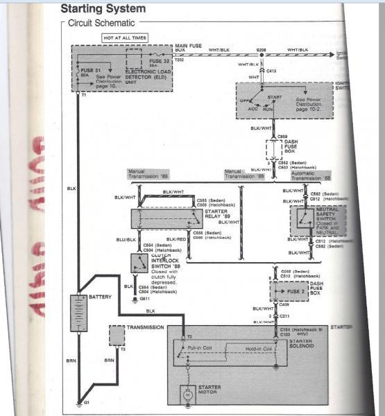05 Civic Fuse Box Diagram Fuse Box Continuity Starter Wire Honda Tech Honda
