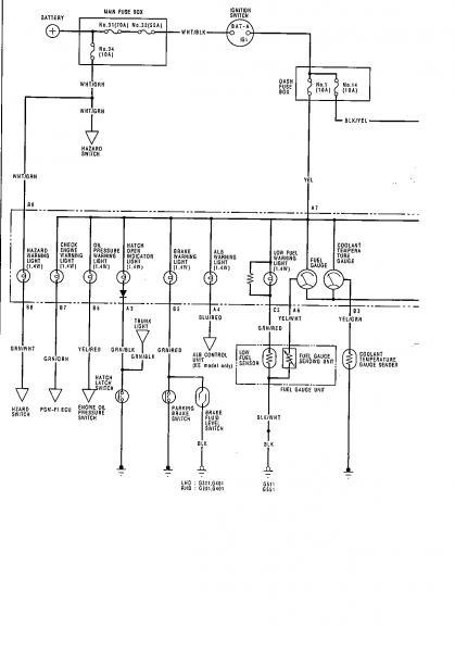 Crx Climate Control Wiring Diagram : 34 Wiring Diagram