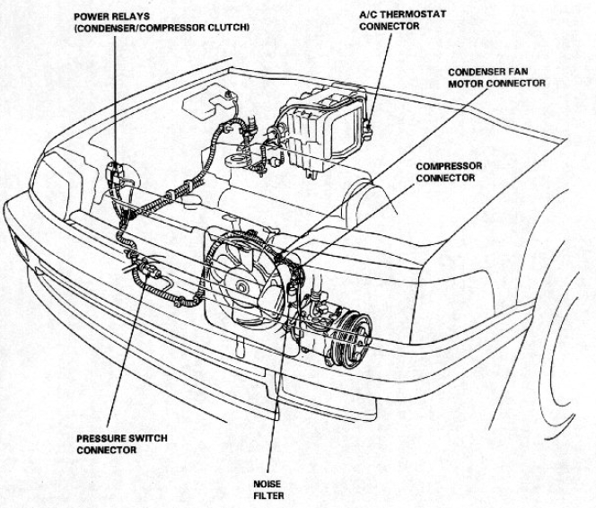 91 Accord Wiring Diagram 91 Accord Exhaust System Wiring