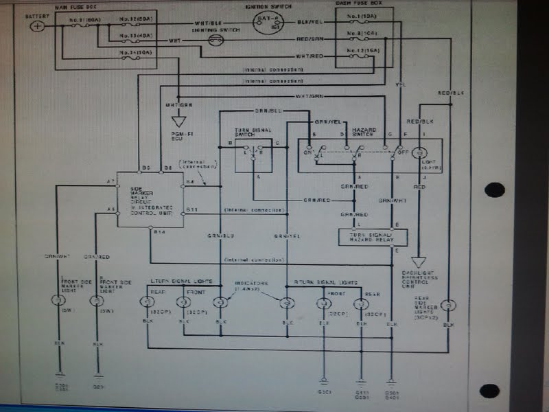 Wiring Diagram 2001 Honda Civic Lx