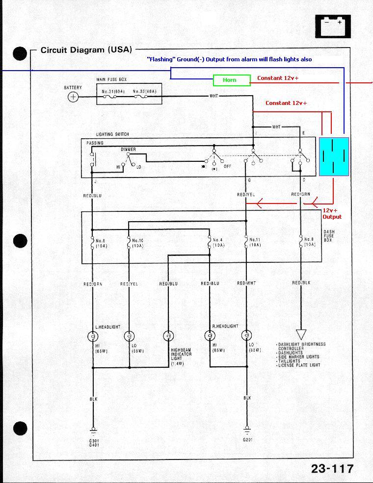 91 honda accord wiring diagram facbooik com 1993 Honda Civic Wiring Diagram 1993 honda accord alarm wiring diagram wiring diagram 1993 honda civic wiring diagram
