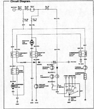 AC wiring diagram?  HondaTech