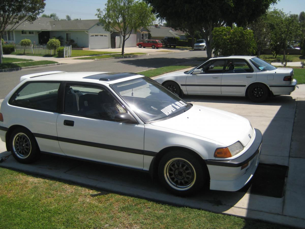 hight resolution of my girls 1989 honda civic si w dohc b16 with a c