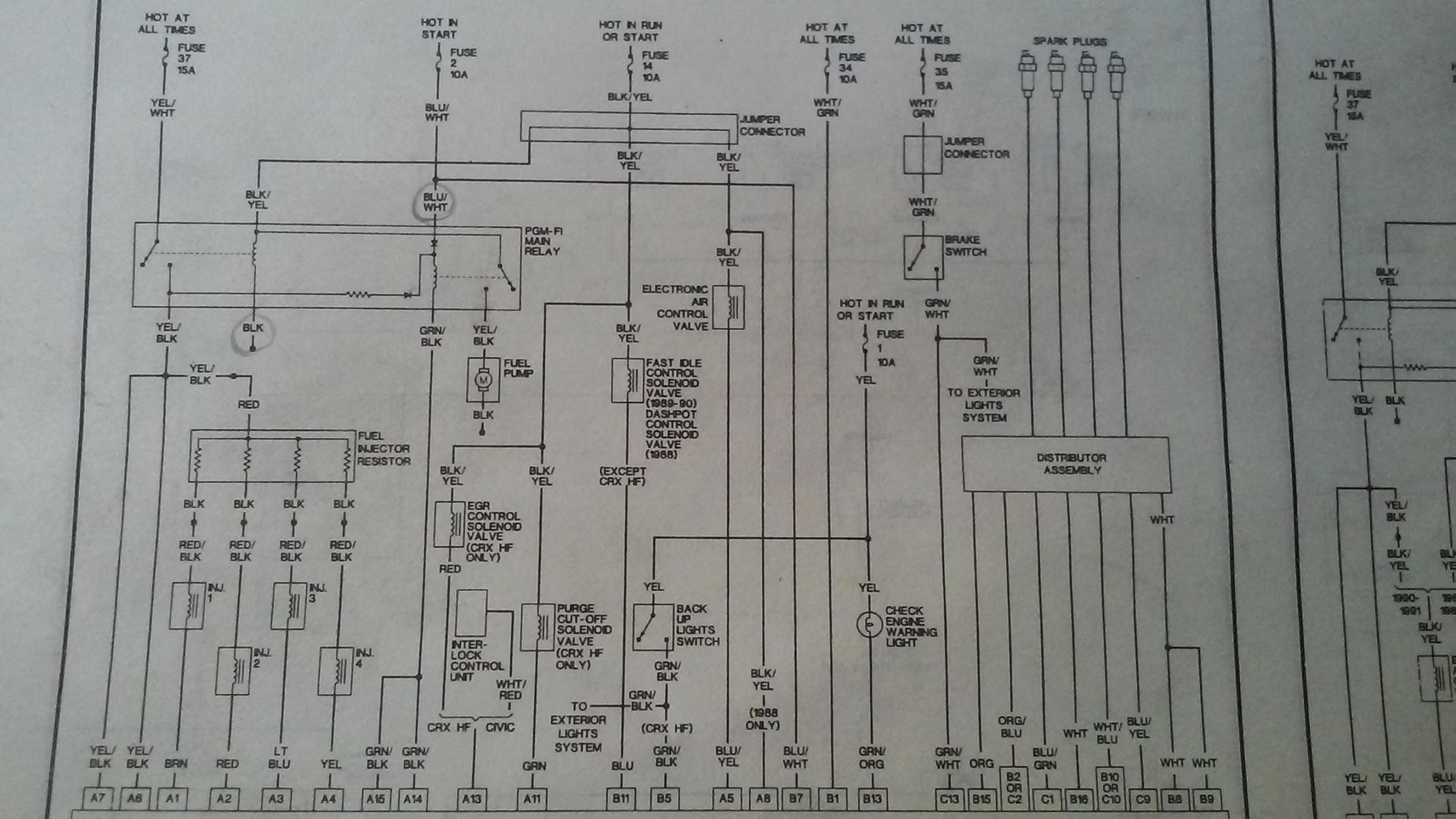 Trx250x Wiring Diagram
