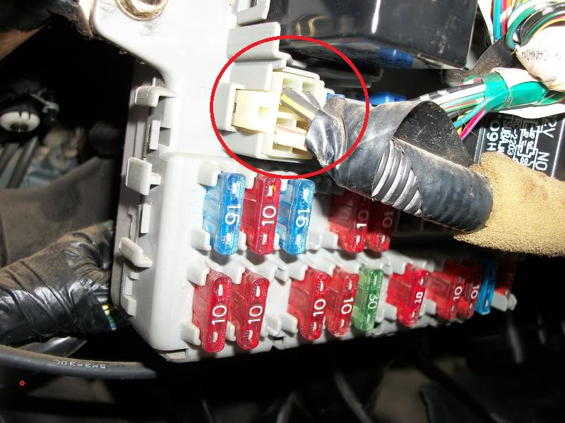Under Dash Fuse Box Honda Civic