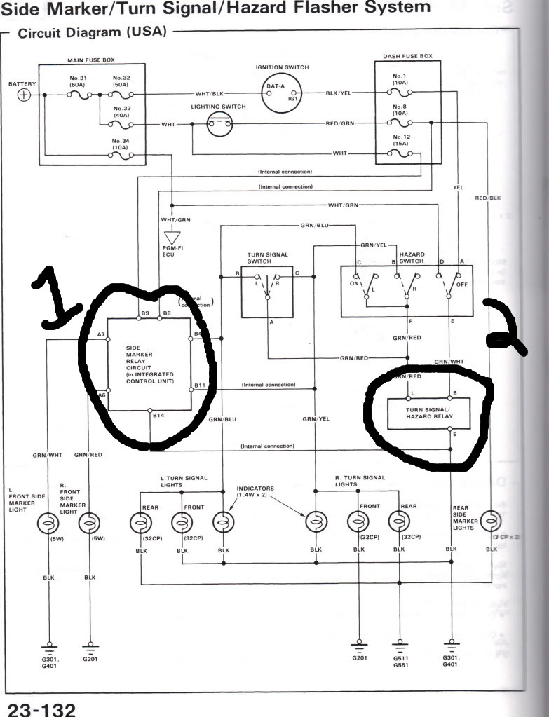 medium resolution of 86 honda crx wiring diagram