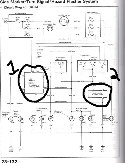 small resolution of 86 honda crx wiring diagram
