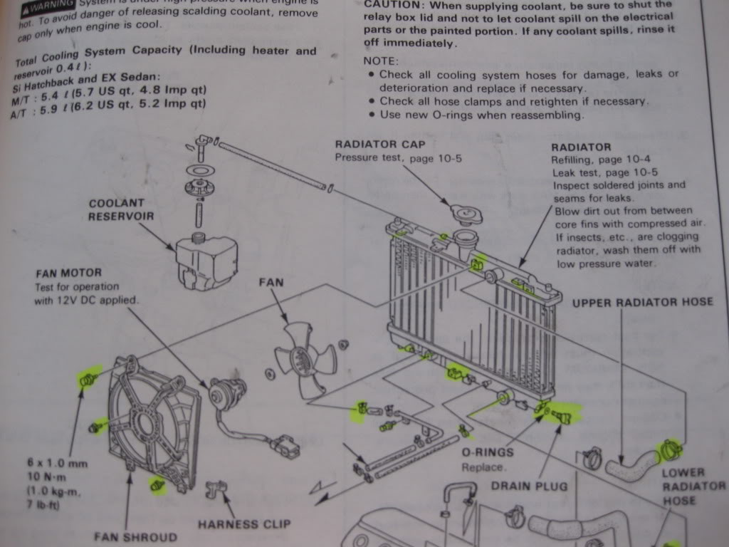 hight resolution of radiator replacement for dumdums honda tech honda forum discussion honda accord radiator schematic