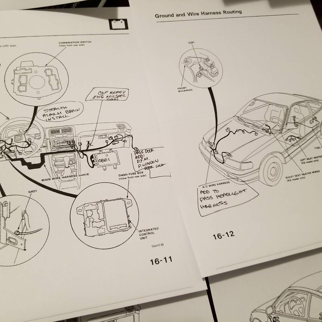 Wiring Diagram As Well 91 Honda Civic Wiring Diagram As Well Honda Crx