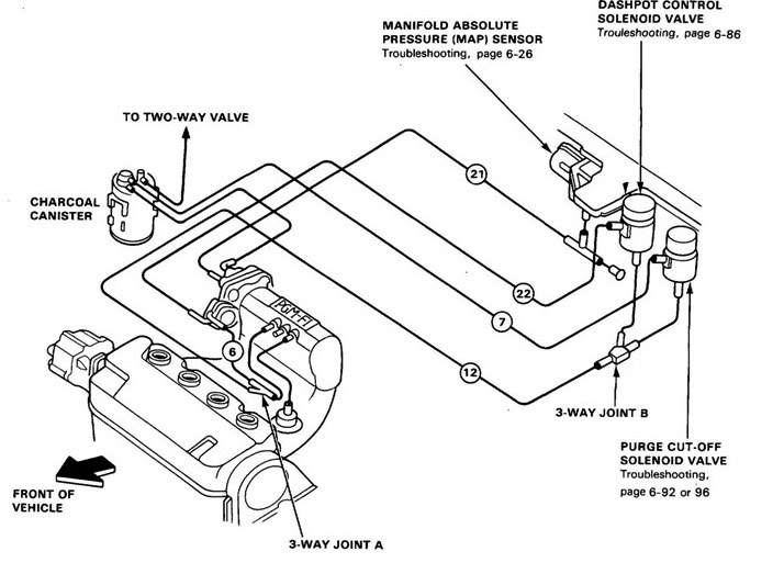 Honda Map Sensor Diagram