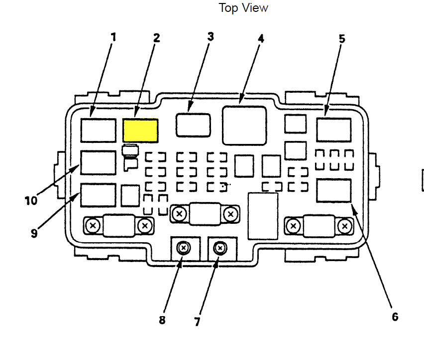 2001 Honda Crv Fuse Box Diagram 2008 Honda Crv Fuse Box