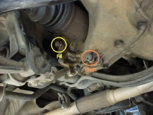 Oil fill on h23 manual transmission?  HondaTech  Honda Forum Discussion