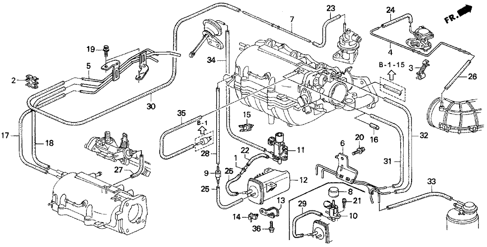 2001 Acura Rl Wiring Diagrams Where Does This Hose Plug Into Picture Honda Tech
