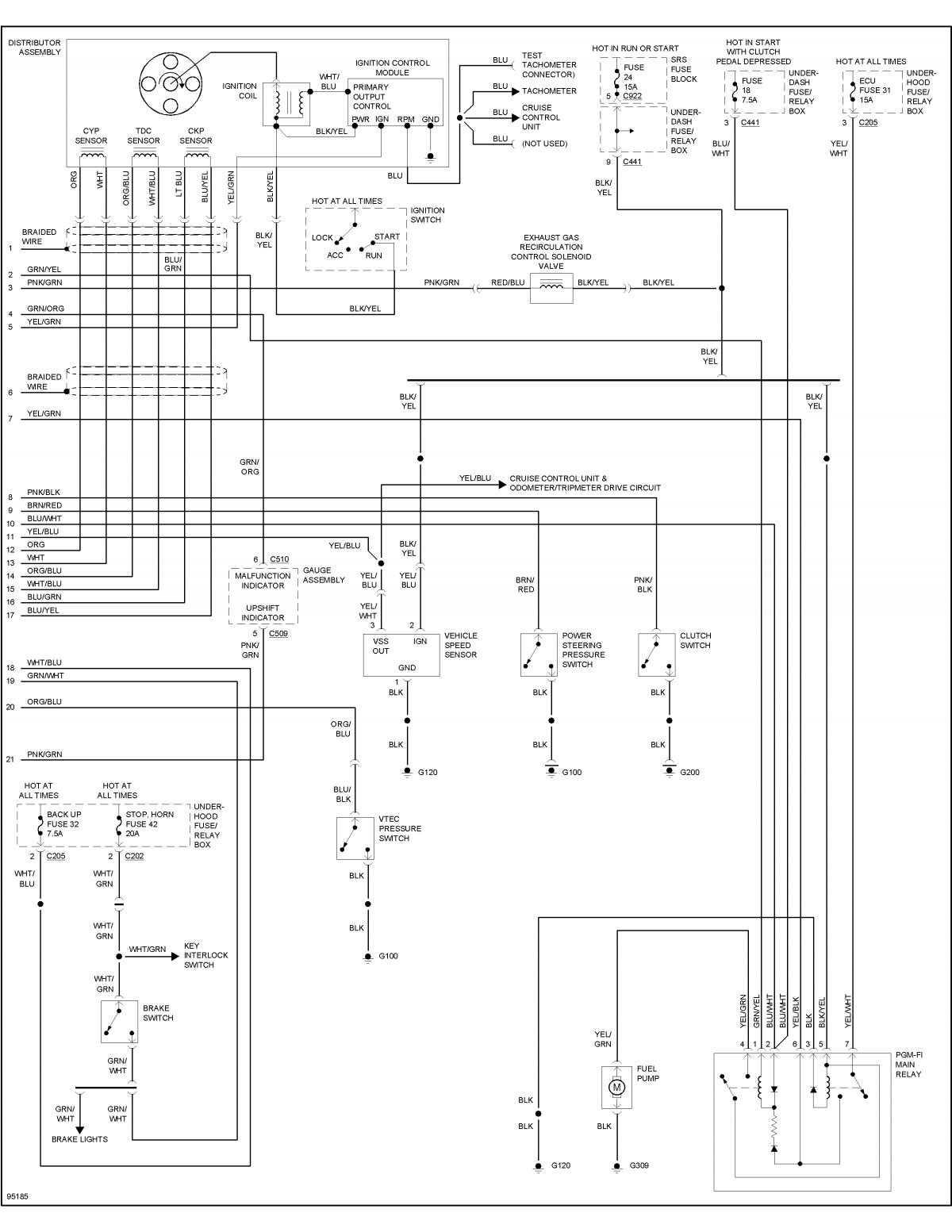 vtec oil pressure switch wiring diagram 1981 shovelhead honda b16 engine get free image about