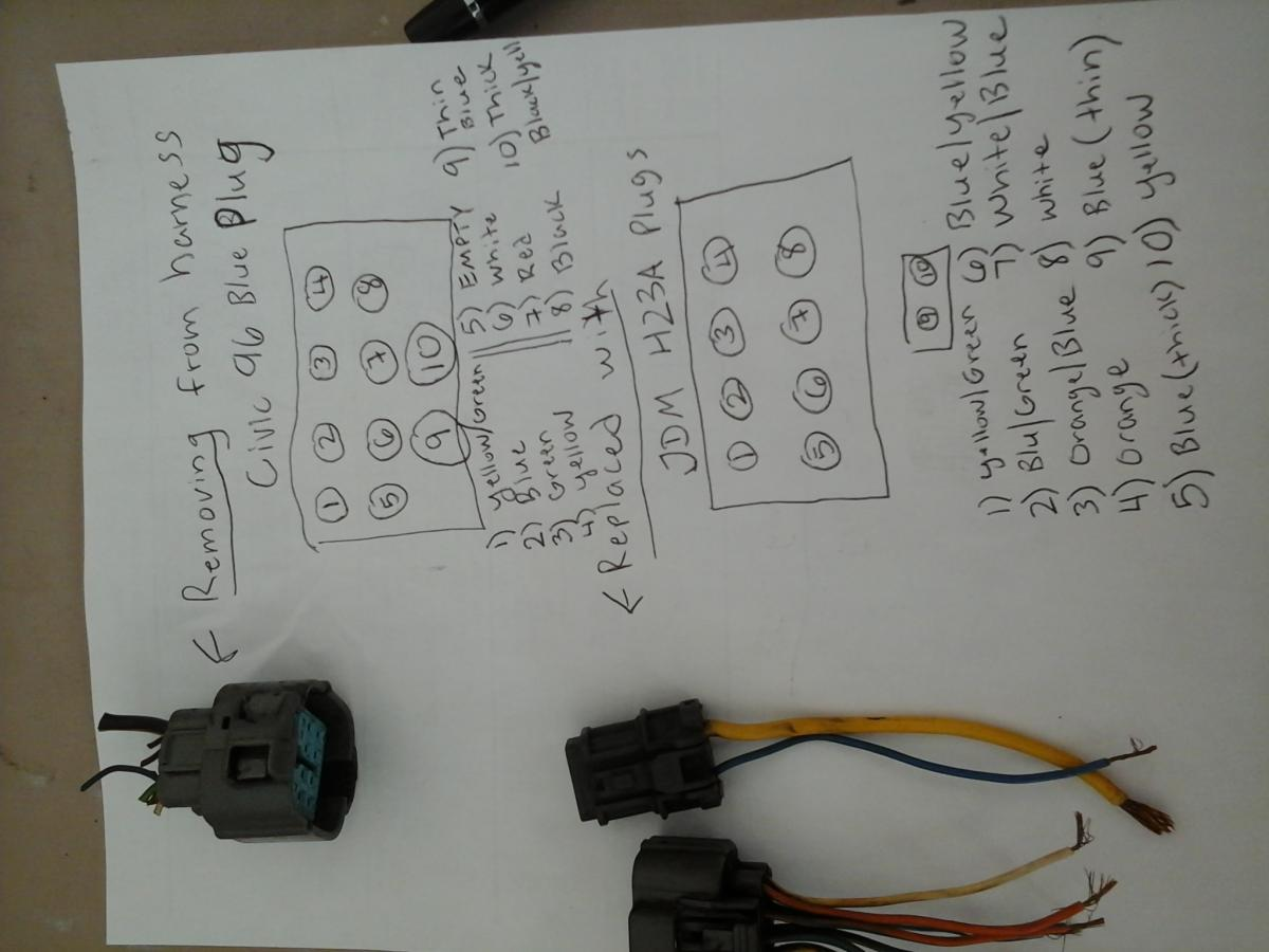 honda civic obd2 wiring diagram generac whole house generator obd1 alternator wire harness get free