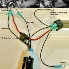 Integra Wiring Harness Diagram Conceptual Model Nurse Headlight Diagrams Schematic How To Jdm Itr Hid And Fog Light Honda Tech 1991 Acura